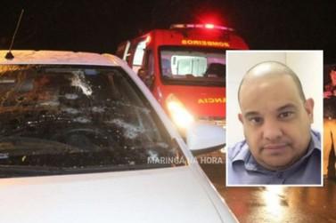 Empresário é executado a tiros na frente de sua casa em Maringá
