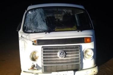 Homem morre atropelado na PR-082, entre Ivaté e Icaraíma