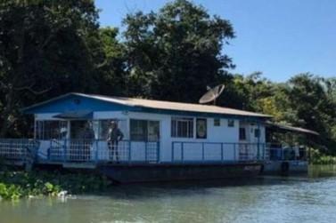 Polícia Federal monta bloqueio no Rio Paraná para coibir rota de contrabando