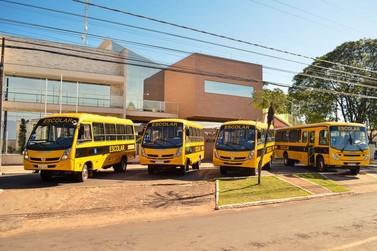 Douradina renova e amplia frota do transporte escolar