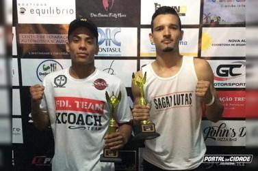 Douradinenses são campeões em torneio de Artes Marciais