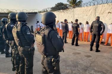 Presas de Umuarama são transferidas para presídio feminino de Goioerê