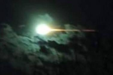 Clarão no céu e explosão assustam moradores da região Noroeste