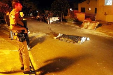 Foragido da Peco é morto a tiros no Parque Jabuticabeiras, em Umuarama