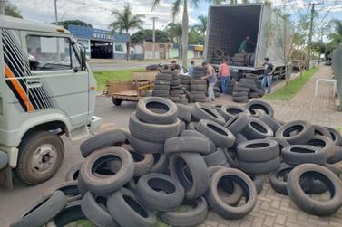 Logística reversa de pneus atenderá todos os municípios do Paraná