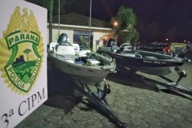 Polícia recupera duas lanchas roubadas em Porto Rico