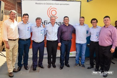 Projeto Alfredo Gazin Orquestra Escola é inaugurado em Douradina