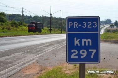 Detonação de rochas interdita PR-323 nesta quinta; veja os caminhos alternativos