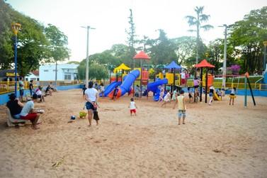 Novo Parque Infantil proporciona lazer e diversão para crianças de Douradina