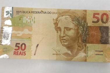 Circulação de notas falsas deixa comerciantes em alerta em Douradina