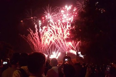 Douradina terá Show da Virada com queima de fogos e sorteio de moto