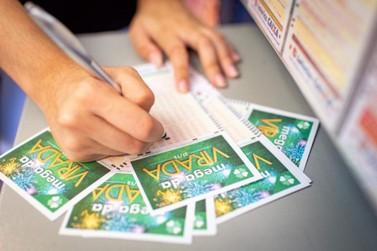 Apostador de Icaraíma acerta 5 dezenas e leva R$ 57 mil na Mega da Virada