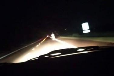 Foto com suposto fantasma em estrada da região repercute e divide opiniões