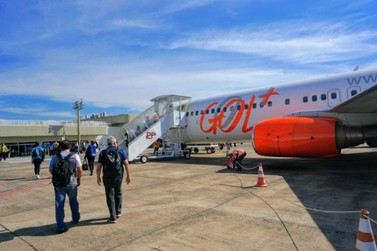 Gol começa a operar voo direto entre Foz do Iguaçu e Salvador