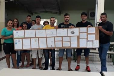 Alunos do Ceebja Douradina realizam trabalho de conscientização sobre a dengue