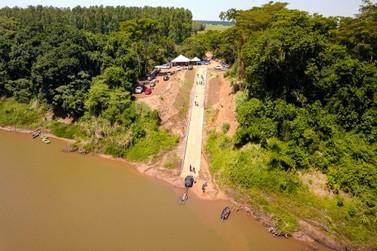 Inaugurada a rampa náutica no Rio Ivaí, em Douradina
