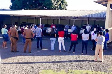Prefeitura realiza reunião para alinhar ações contra o coronavírus em Ivaté