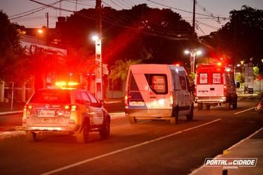 Viaturas com sirenes ligadas anuncia toque de recolher em Douradina