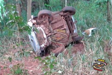 Jovem morre após acidente na PR-082, entre Icaraíma e Porto Camargo