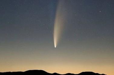 Cometa Neowise poderá ser visto no Brasil a partir desta quarta-feira (22)