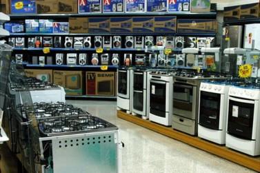 Venda de eletrodomésticos cresce 14% em maio no Paraná após dois meses de queda