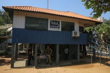 Base integrada reforça policiamento na fronteira do PR e do MS