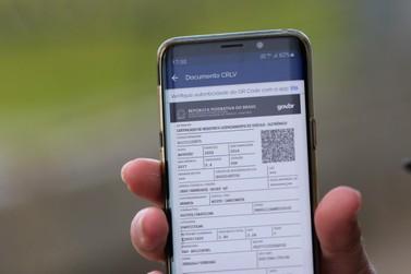 Documento de propriedade de veículos passa a ser digital