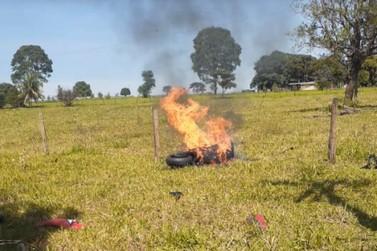 Motociclista morre em acidente na PR-482, entre Tapira e Cidade Gaúcha
