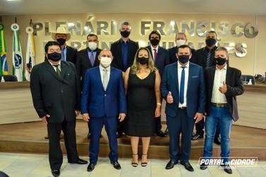 Prefeito, Vice e Vereadores eleitos assumem mandato em Douradina