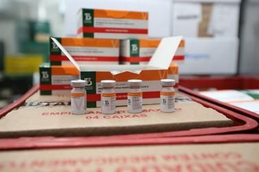 Douradina recebe mais 100 doses das vacinas CoronaVac e AstraZeneca