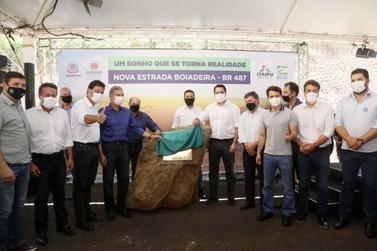 Governo do Paraná e Itaipu lança obra de revitalização da Estrada Boiadeira