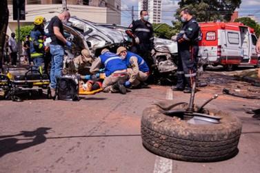 'Foi um milagre', diz irmão de vítima que sobreviveu a acidente em Umuarama