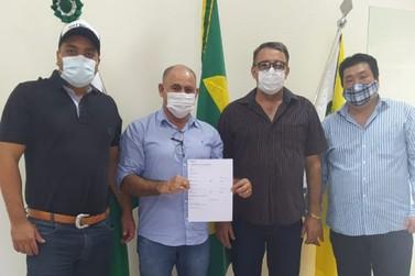 Empresário de Douradina doa recarga de oxigênio para a Saúde
