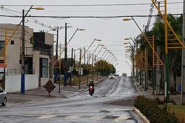Inverno começou com chuvas isoladas e temperaturas amenas em Douradina