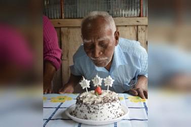 Morador de Douradina completa 103 anos e dá exemplo de longevidade