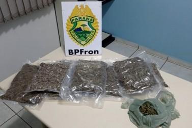 BPFron apreende 'supermaconha' em ônibus de linha que passava por Icaraíma