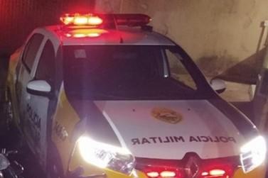 Homem invade casa da ex-mulher, danifica imóvel e é preso em Douradina