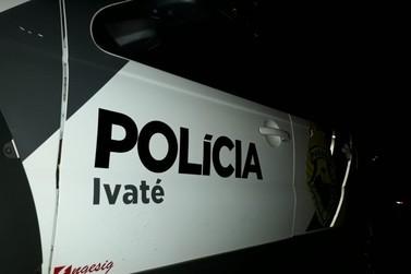 Jovem fica ferido após ser esfaqueado, em Ivaté