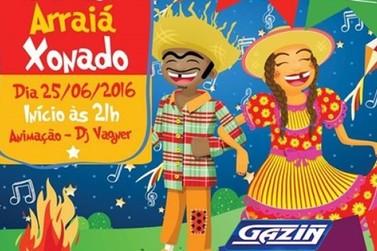 Arraiá Xonado da Gazin acontece neste sábado e promete muita festa e alegria em Douradina
