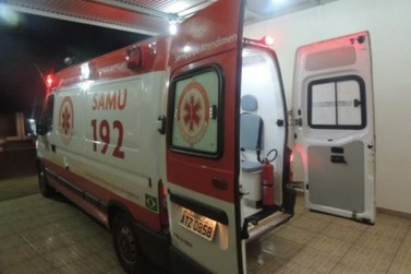 Bebê de oito dias é salvo por socorristas do SAMU após se engasgar