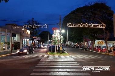 Comércio de Douradina fica aberto até às 22h nesta semana
