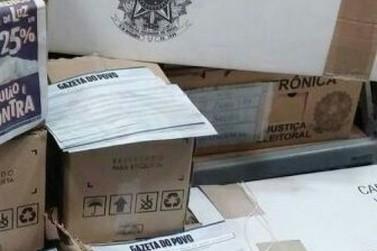 Membro do PT de Pérola é flagrado distribuindo material eleitoral irregular