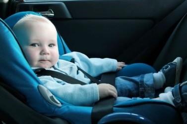 Avaliação aponta que há falhas nas cadeirinhas para bebês e crianças