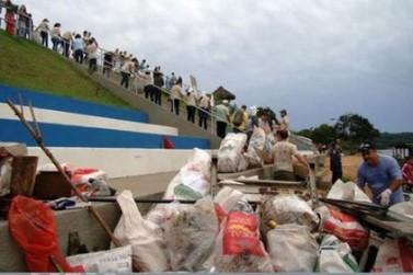 Icaraíma participa de etapa do projeto Rio + Limpo