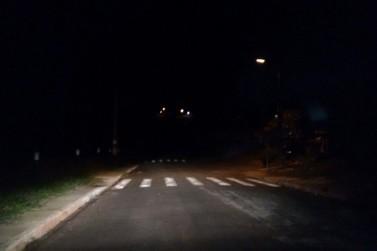 Em Douradina morador reclama de escuridão no Jardim Molivera