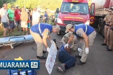 Senhor de 55 anos é amarrado em carro e arrastado por 30 metros em Umuarama