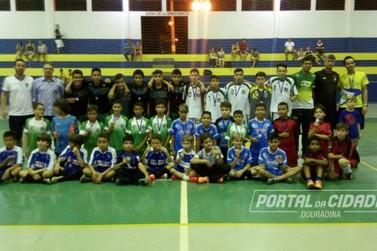 1ª Copa Municipal de futsal menor contou com a participação de 105 atletas