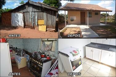 População se une e constrói Casa para casal de idosos no distrito de Vila Formosa