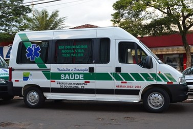 Douradina adquiri novas ambulâncias