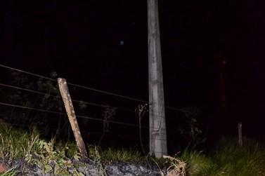 População de Douradina fica mais de 3 horas sem energia elétrica